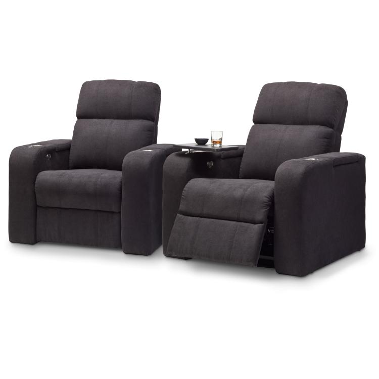 Hcm Atlas 2 Seat Fabric Cinema Seating