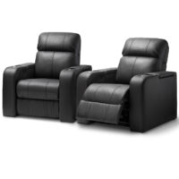 HCM Atlas 2-Seat Leather Cinema Seating