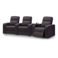 HCM Atlas 3-Seat Fabric Cinema Seating