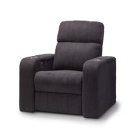 HCM Atlas Single Seat Fabric Cinema Seating