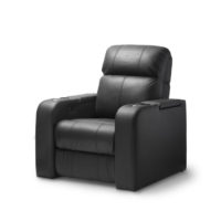 HCM Atlas Single Seat Leather Cinema Seating