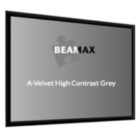 HCM Projector Screens Fixed A-Velvet Screen HIGH CONTRAST GREY